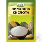 Eko lemon acid 100g