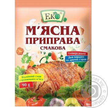 Приправа Эко мясная вкусовая 90г - купить, цены на Novus - фото 1
