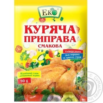 Приправа Еко куряча смакова 90г - купити, ціни на Novus - фото 1