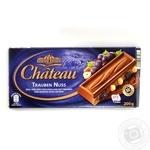 Шоколад молочный Шато с орехами в плитках 200г Германия
