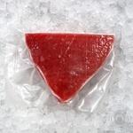 Frozen tuna fillet