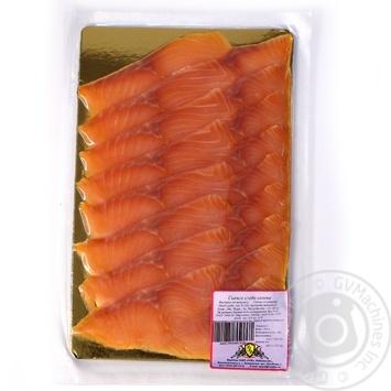 Рыба семга Риф слабосоленая 180г вакумная упаковка Украина