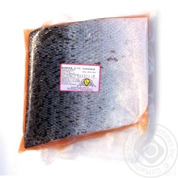 Рыба семга Риф слабосоленая вакумная упаковка Украина