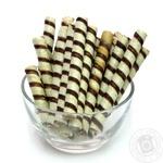 Печиво трубочка шоколадна