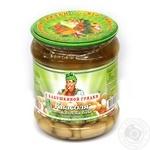 Vegetables kidney bean S babushkinoy gryadki white canned 500g glass jar Ukraine