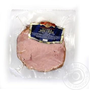 Ветчина Ходоровский мясокомбинат свинина копчено-вареный Украина