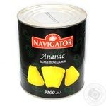 Fruit pineapple Navigator pieces 3100ml Thailand