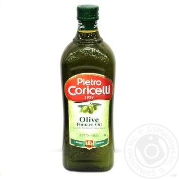 Oil Pietro coricelli olive 1000ml glass bottle Italy