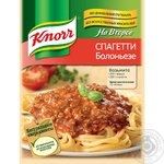 Seasoning Knorr For main course for spaghetti bolognese 34g