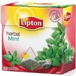 Tea Lipton Herbal herbal with berries packed 20pcs 22g cardboard packaging