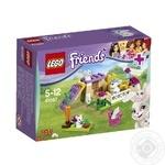 Конструктор LEGO Френдз Зайчик и малыши для детей от 5 до 12 лет 47 деталей