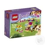 Конструктор LEGO Френдз Дрессировка щенка для детей от 5 до 12 лет 65 деталей
