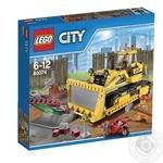 Конструктор LEGO City Бульдозер для детей от 5 до 12 лет 384 детали