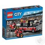 Конструктор LEGO City Транспортер для гоночних мотоциклів для дітей від 5 до 12 років 178 деталей