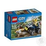 Конструктор LEGO City Патрульный вездеход для детей от 5 до 12 лет 59 деталей
