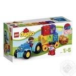 Конструктор LEGO Дупло Мой первый трактор для детей от 1.5 до 5 лет 12 деталей
