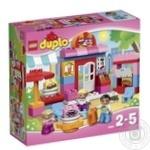 Конструктор LEGO Дупло Кафе для дітей від 2 до 5 років 43 деталі