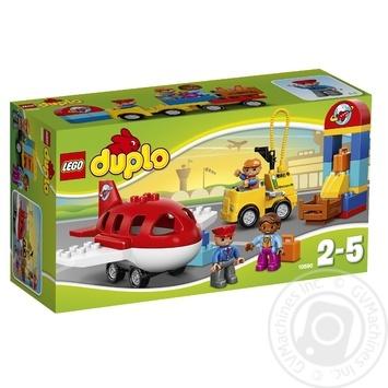 Скидка на Конструктор LEGO Дупло Аэропорт для детей от 2 до 5 лет 29 деталей