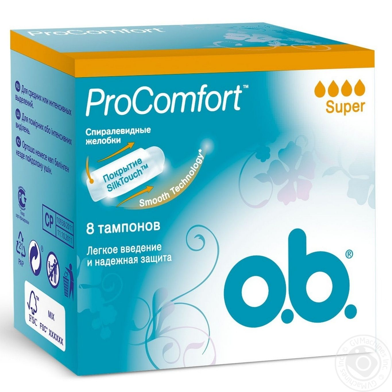 Tampons Ob Procomfort For Women Normal Plus 8pcs Hygiene