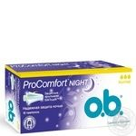 Тампоны o.b. ProComfort Night Normal 16шт