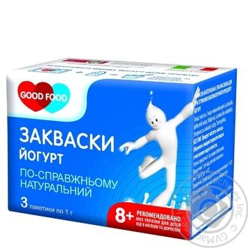 Dry bacterial starter Good Food Yogurt 3x1g Ukraine - buy, prices for Novus - image 2