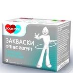 Dry bacterial starter Good Food Yogurt Fitness 3x1g Ukraine