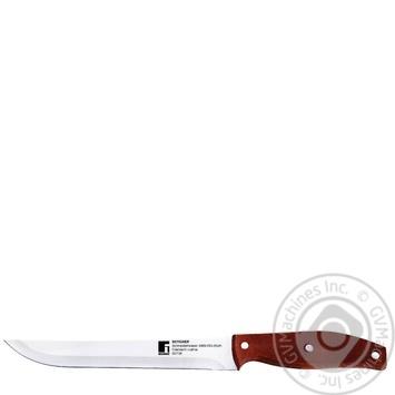 Нож отделочный Bergner нержавеющая сталь 20см