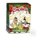 Напиток Соковита сокосодержащий виноградно-яблочный 200мл пэт Украина