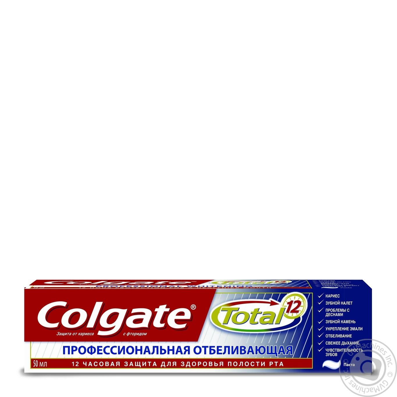 профессиональная зубная паста для отбеливания зубов