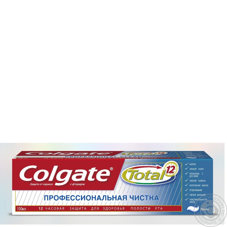 Зубна паста Colgate Total 12 Професійне Чищення гель 100мл ... 5daac77a49c6a