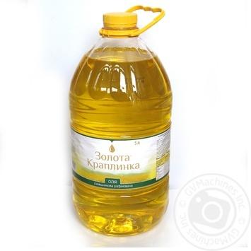 Масло Золота капелька подсолнечника рафинированная 5000г