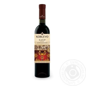 Вино красное Коблево Кагор Кара-Баш виноградное ординарное десертное специального типа сладкое 16% стеклянная бутылка 750мл Украина - купить, цены на МегаМаркет - фото 2
