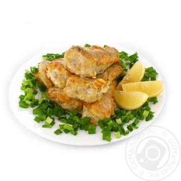 Fish hake Eko market fried