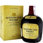 Whiskey Suntory 43% 700ml glass bottle Japan
