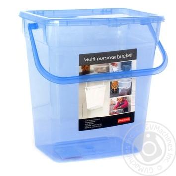 Ведро Plast team для порошка 6л - купить, цены на Метро - фото 1