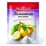 Лимонная кислота Приправка 20г - купить, цены на МегаМаркет - фото 1