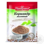 Spices cilantro Pripravka ground 20g Ukraine