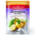 Lemon acid Pripravka for desserts 100g