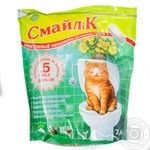 Cat litter Smaylik 7.6kg Ukraine