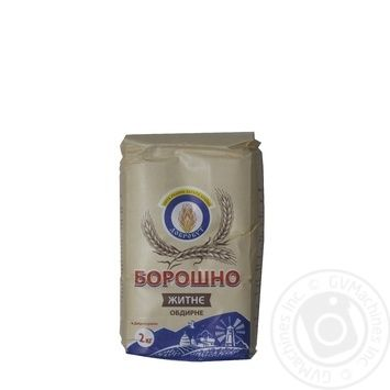 Flour Dobrobut rye peeled 2000g Ukraine