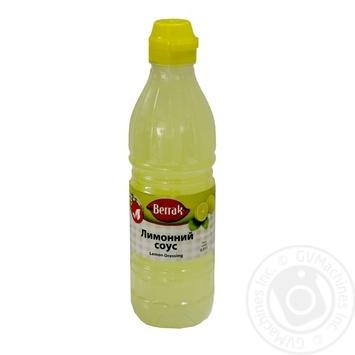 Соус Беррак лимон 500мл