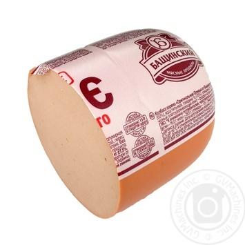 Ковбаса Оригінальне Олів'є від Бащинського Бащинський вар 1г п/а ваг - купить, цены на Novus - фото 1
