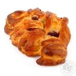 Булочка Французская пекарня крем и клюква 100г