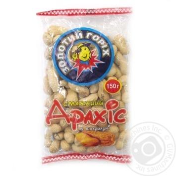 Арахис Золотой орех жареный в скорлупе 150г