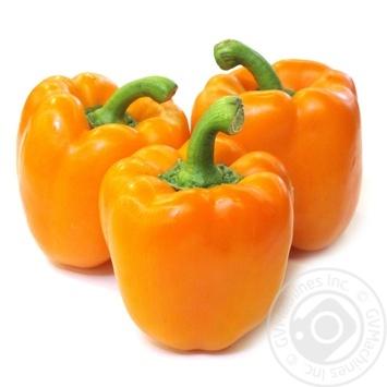 Перец оранжевый импорт