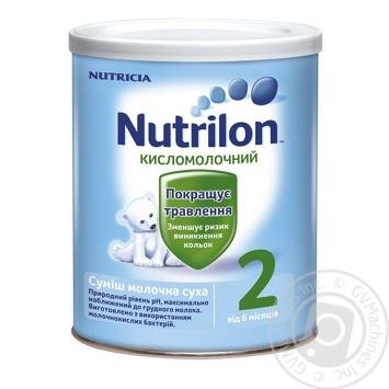 Смесь молочная Нутриция Нутрилон 2 Кисломолочный сухая для детей с 6 месяцев железная банка 400г - купить, цены на Ашан - фото 7