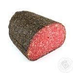 Sausage salami Antartida pork chilled vacuum packing