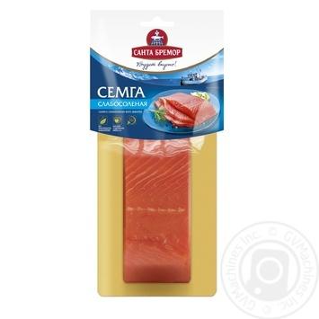 Fish atlantic salmon Santa bremor light-salted 150g