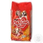 Корм для собак Darling Птах та Овочі 4*3кг