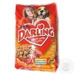 Корм для собак Darling Птах та Овочі 1*10кг